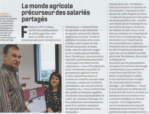 Synergies entre groupements d'employeurs agricoles et multisectoriels