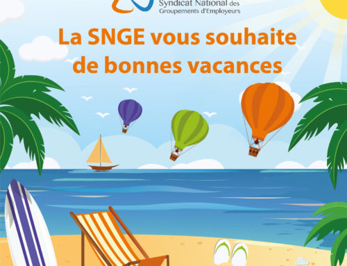 Le SNGE vous souhaite de bonnes vacances d'été 2018