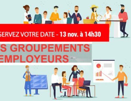 Séance du CESE sur les groupements groupements le 13 novembre à 14h30