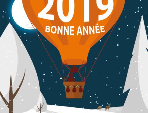 Le SNGE vous souhaite une bonne année 2019