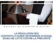 LA RÉGULATION DES CONTRATS À DURÉE DÉTERMINÉE D'USAGE, ENJEU DE LUTTE CONTRE LA PRÉCARITÉ